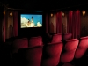 Home theater with marquee seats