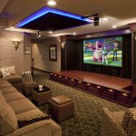 Home Theater with Stage