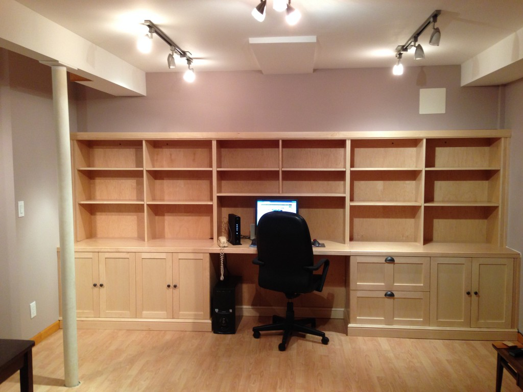 Home Office Custom Cabinet