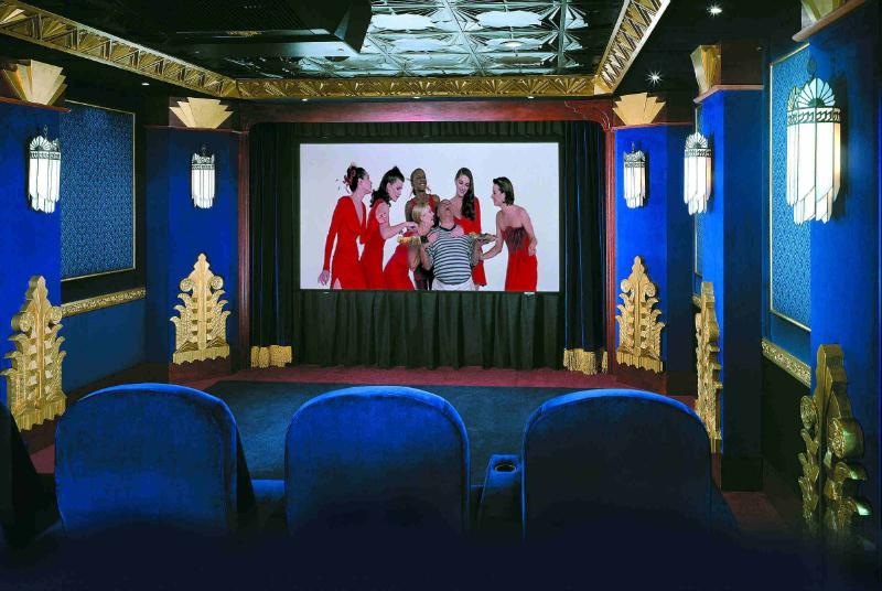Theater interiors cinema design art deco for Art deco cinema interior