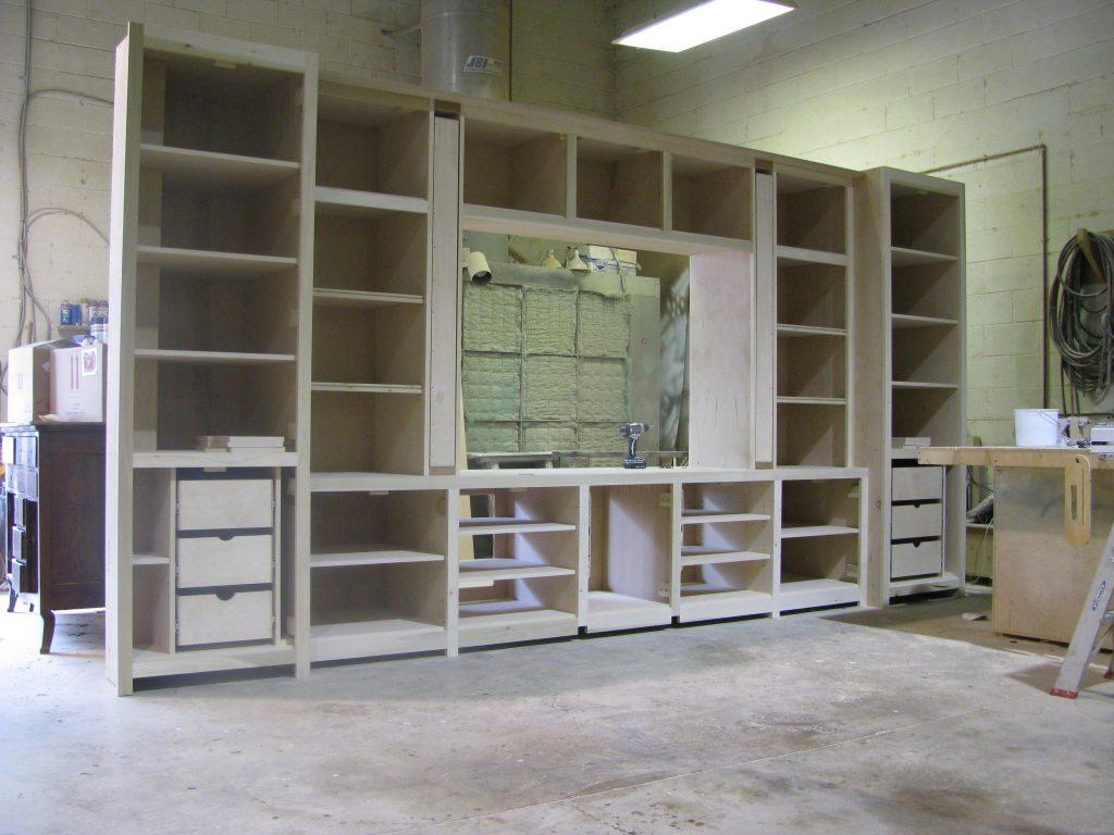 Media Cabinet in process