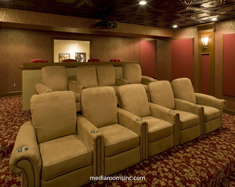 English Pub Home Theater