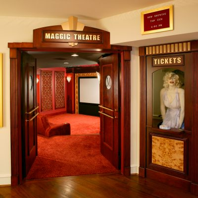 Marilyn Monroe Art Deco Theater